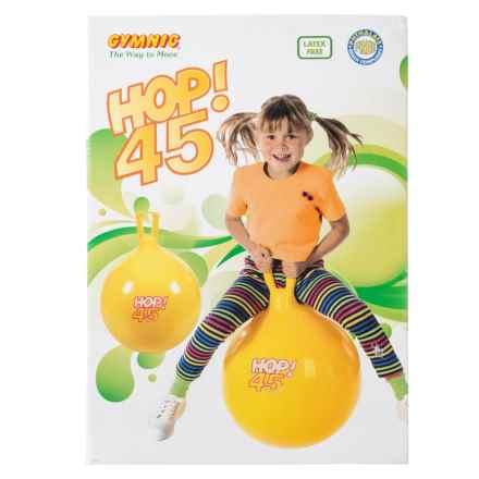 Kettler Gymnic Hop 45 Bouncing Ball in Orange - Closeouts