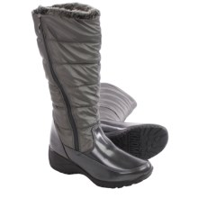 Khombu Abby Snow Boots - Waterproof, Insulated (For Women) in Pewter - Closeouts