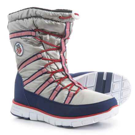 d93b82e0a58 Khombu Alta US Ski Team Snow Boots - Waterproof (For Women) in Silver