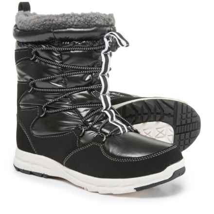 Khombu Alta-V Snow Boots - Waterproof, Insulated (For Women) in Black - Closeouts