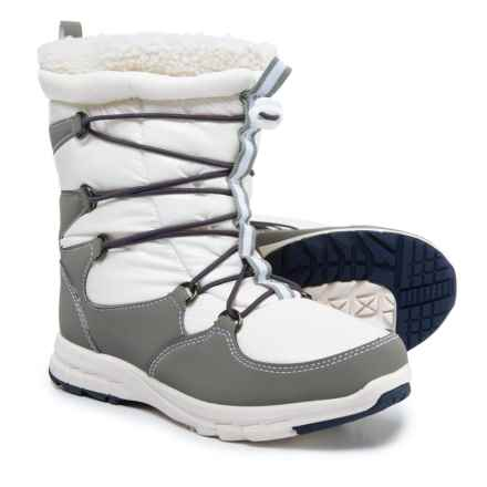 Khombu Alta-V Snow Boots - Waterproof, Insulated (For Women) in White - Closeouts