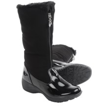 Khombu Amber Snow Boots - Waterproof, Insulated (For Women) in Black/Patent - Closeouts