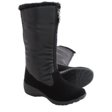 Khombu Amber Snow Boots - Waterproof, Insulated (For Women) in Black - Closeouts