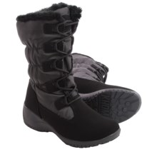 Khombu Anne Snow Boots - Waterproof, Insulated (For Women) in Black - Closeouts