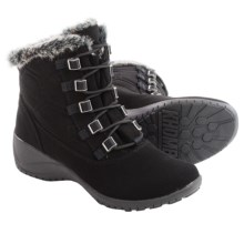 Khombu Annie Snow Boots - Waterproof, Insulated (For Women) in Black - Closeouts