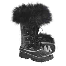 Khombu Arctic Novelty Winter Boots (For Women) in Black - Closeouts