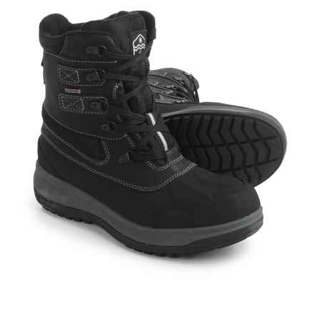 Khombu Balance-K Snow Boots - Waterproof, Insulated (For Men) in Black - Closeouts