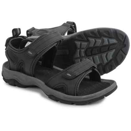 Khombu Barracuda Sport Sandals (For Men) in Black - Closeouts