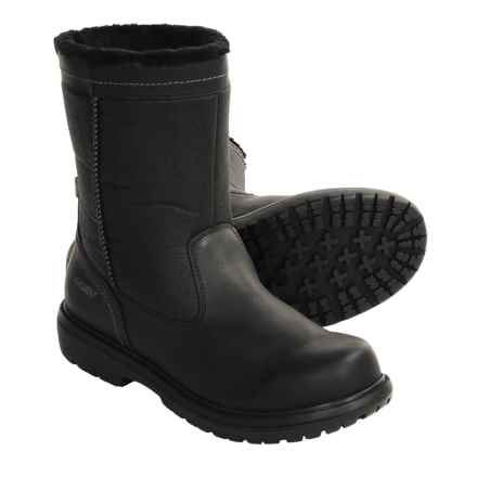 Khombu Bell Tower Boots (For Men) in Black - Closeouts