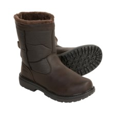 Khombu Bell Tower Boots (For Men) in Dark Brown - Closeouts