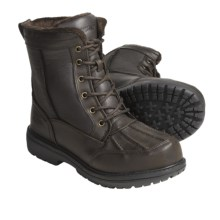 Khombu Bell Tower Winter Boots - Insulated (For Men) in Dark Brown - Closeouts