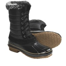 Khombu Boston Bean Winter Pac Boots - Waterproof (For Women) in Black - Closeouts