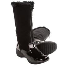 Khombu Bryn Winter Boots - Waterproof, Insulated (For Women) in Black - Closeouts