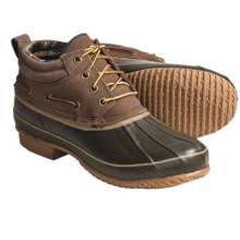 Khombu Classic 4-Eye Winter Boots - Suede (For Men) in Dark Brown - Closeouts