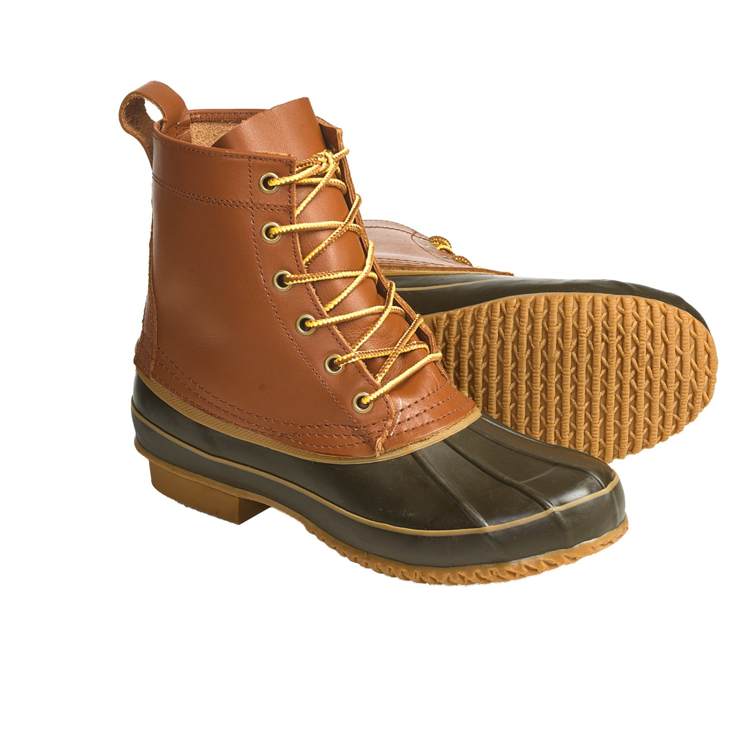 khombu classic duck winter boots leather for