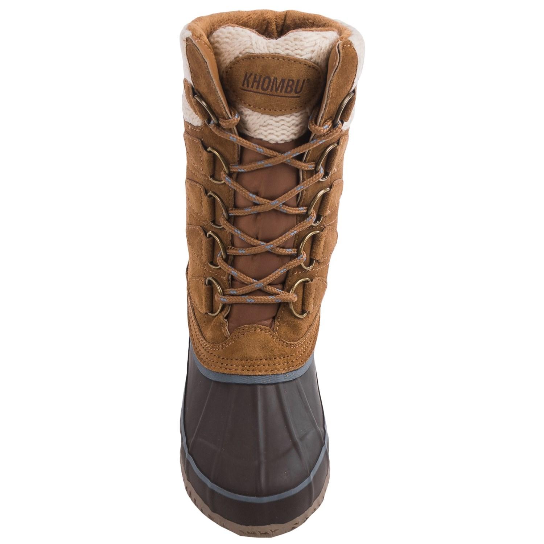Model Khombu Bellini Tall Boots For Women 2821R  Save 35