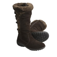 Khombu Denver Winter Boots - Suede, Faux-Fur Lining (For Women) in Dark Brown - Closeouts