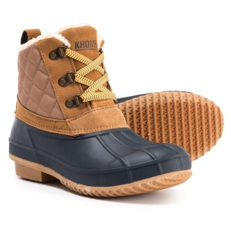 d43cabca6a3 Khombu Dixie Ankle Duck Boots (For Women) - Save 75%