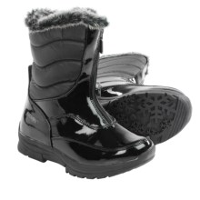 Khombu Dora Snow Boots - Waterproof, Insulated (For Little and Big Girls) in Black - Closeouts