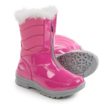 Khombu Dora Snow Boots - Waterproof, Insulated (For Little and Big Girls) in Magenta - Closeouts