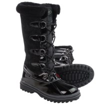 Khombu Farrah Snow Boots - Waterproof, Insulated (For Women) in Black - Closeouts