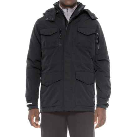 Khombu Field Down Jacket (For Men) in Charcoal Gray - Closeouts