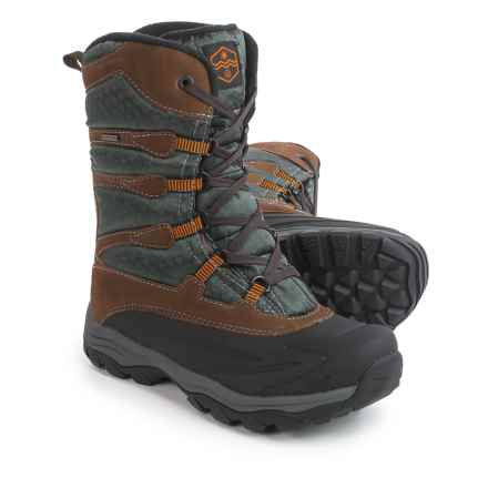 Khombu Fred-K Snow Boots - Waterproof, Insulated (For Men) in Brown - Closeouts