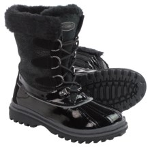 Khombu Free Snow Boots - Waterproof, Insulated (For Women) in Black - Closeouts