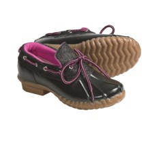 Khombu Glitter Bean Lo Shoes - Waterproof (For Girls) in Black - Closeouts
