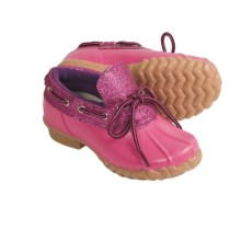 Khombu Glitter Bean Lo Shoes - Waterproof (For Girls) in Fuchsia - Closeouts