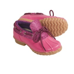 Khombu Glitter Bean Lo Shoes - Waterproof (For Girls) in Fuchsia