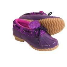 Khombu Glitter Bean Lo Shoes - Waterproof (For Girls) in Purple - Closeouts