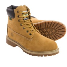 Khombu Hank Snow Boots - Waterproof, Insulated (For Men) in Wheat - Closeouts