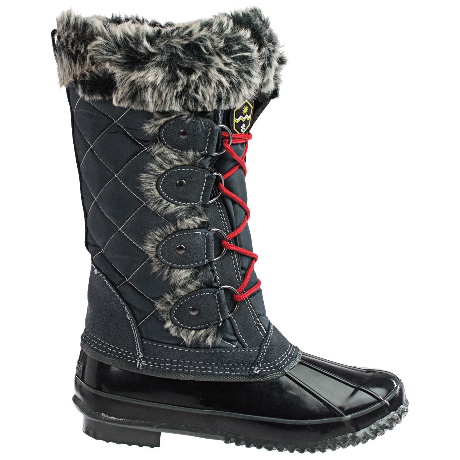 Elegant Khombu Arctic 2 Winter Pac Boots  Weatherproof LaceUps For Women