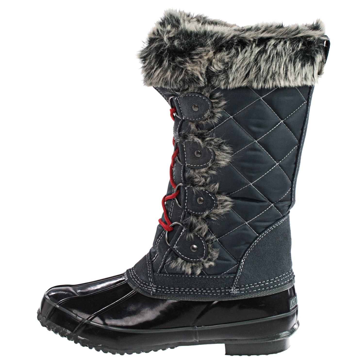 Fantastic Khombu Khombu Linda Women Brown Rain Boot Boots