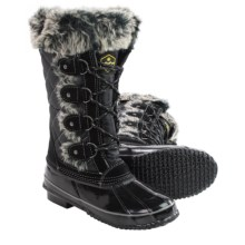 Khombu Jandice Snow Boots - Waterproof, Insulated (For Women) in Black - Closeouts