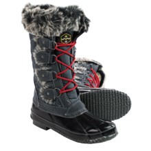 Khombu Jandice Snow Boots - Waterproof, Insulated (For Women) in Grey - Closeouts