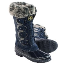 Khombu Jandice Snow Boots - Waterproof, Insulated (For Women) in Navy - Closeouts