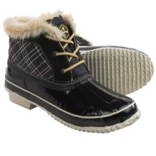 Khombu Jas Snow Boots - Waterproof, Insulated (For Women) in Black - Closeouts