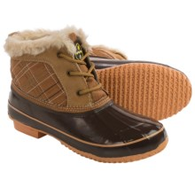 Khombu Jas Snow Boots - Waterproof, Insulated (For Women) in Brown - Closeouts