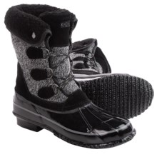 Khombu Jilly Snow Boots - Waterproof, Insulated (For Women) in Black - Closeouts