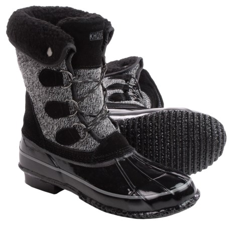 Khombu Jilly Snow Boots - Waterproof, Insulated (For Women)