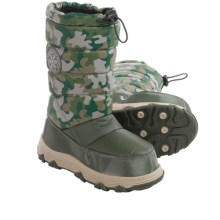 Khombu Juniper Pac Boots (For Little and Big Kids) in Camo - Closeouts