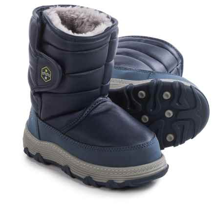 Khombu Jupiter Snow Boots (For Toddlers) in Navy - Closeouts
