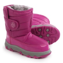 Khombu Jupiter Snow Boots - Waterproof, Insulated (For Little and Big Kids) in Fuschia - Closeouts