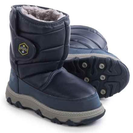 Khombu Jupiter Snow Boots - Waterproof, Insulated (For Little and Big Kids) in Navy - Closeouts
