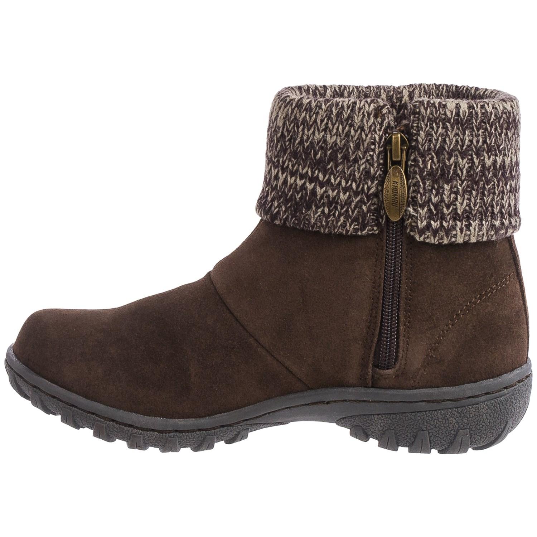 Luxury Khombu Women39s 39Igloo 239 Regular Brown Suede Boots  15548705
