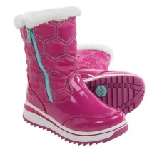 Khombu Kelly Pac Boots (For Little and Big Girls) in Magenta - Closeouts
