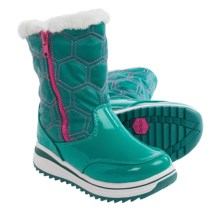 Khombu Kelly Pac Boots (For Little and Big Girls) in Teal - Closeouts