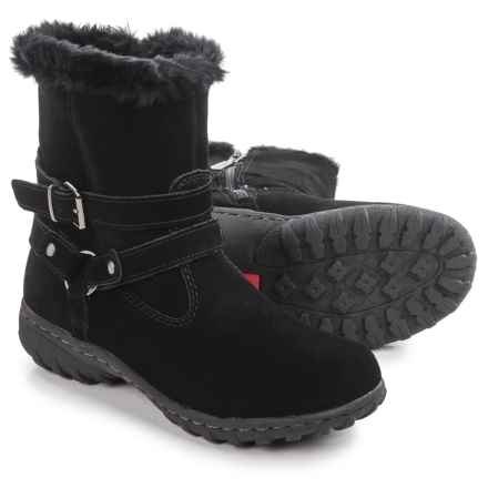 Khombu Kelly Snow Boots - Waterproof, Insulated (For Women) in Black - Closeouts